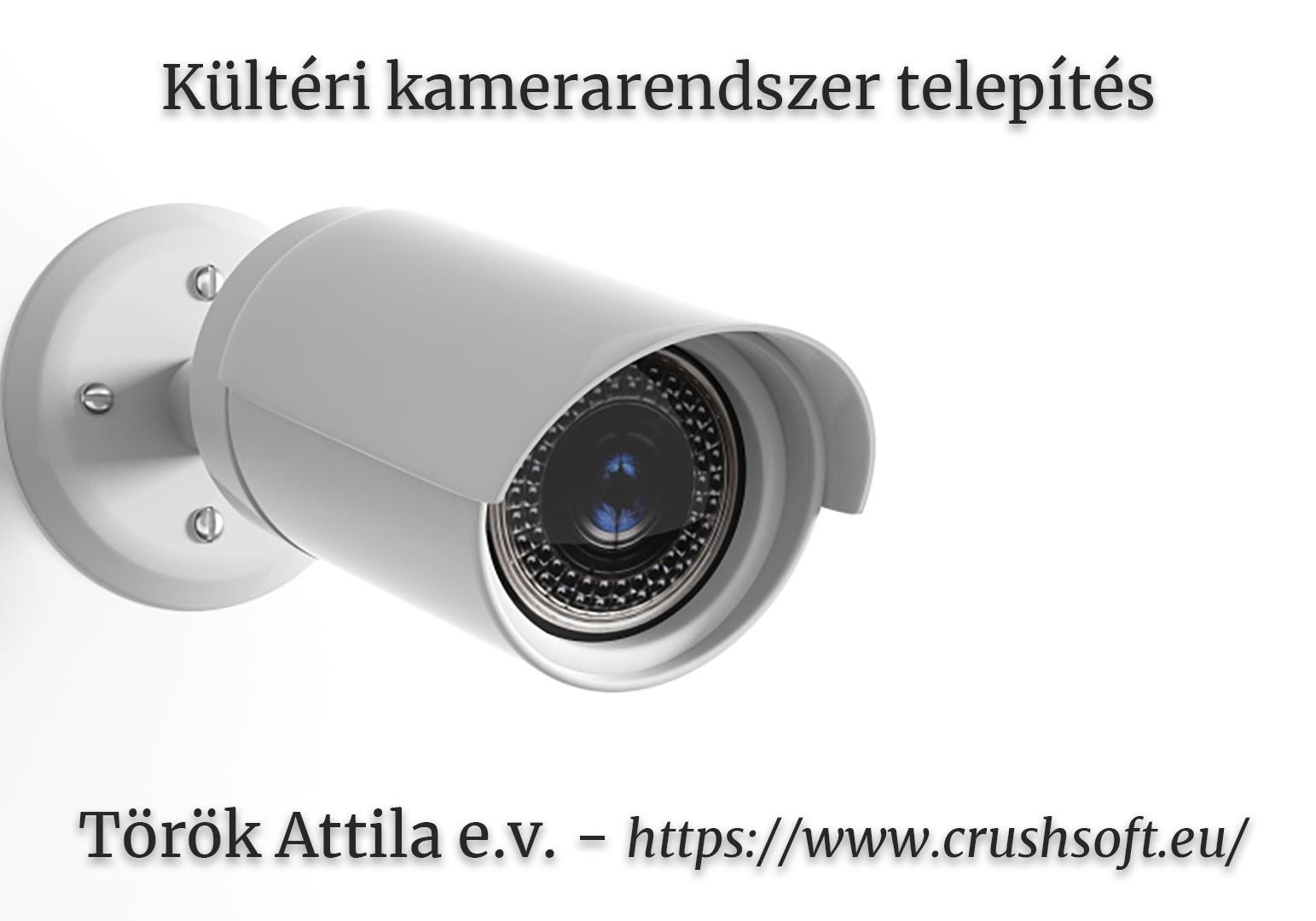 Miért jó a kültéri kamerarendszer